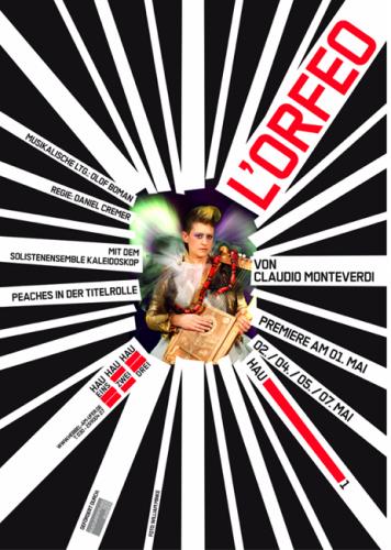 ORFEO Plakat